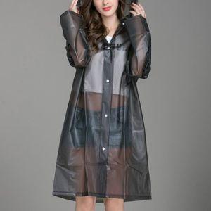 Manteau de pluie transparent - Achat / Vente pas cher