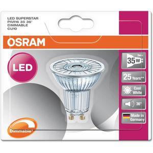 AMPOULE - LED OSRAM Ampoule Spot LED PAR16 GU10 3,1 W équivalent