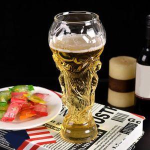 TROPHÉE - MÉDAILLE World Cup chope à bière en verre coupe du monde 45