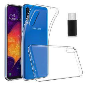 ACCESSOIRES SMARTPHONE Pour Samsung Galaxy A50: Coque silicone gel UltraS
