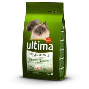 CROQUETTES ULTIMA Croquettes dinde et riz - Pour chat - 1,5kg