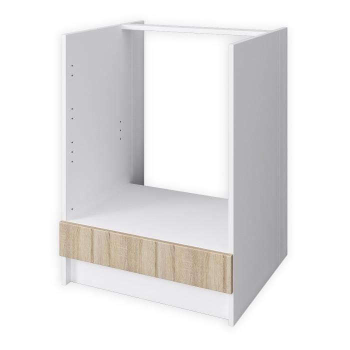 meuble cuisine four et plaque trendy meuble cuisine. Black Bedroom Furniture Sets. Home Design Ideas