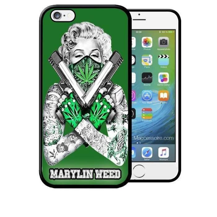 coque samsung s6 weed
