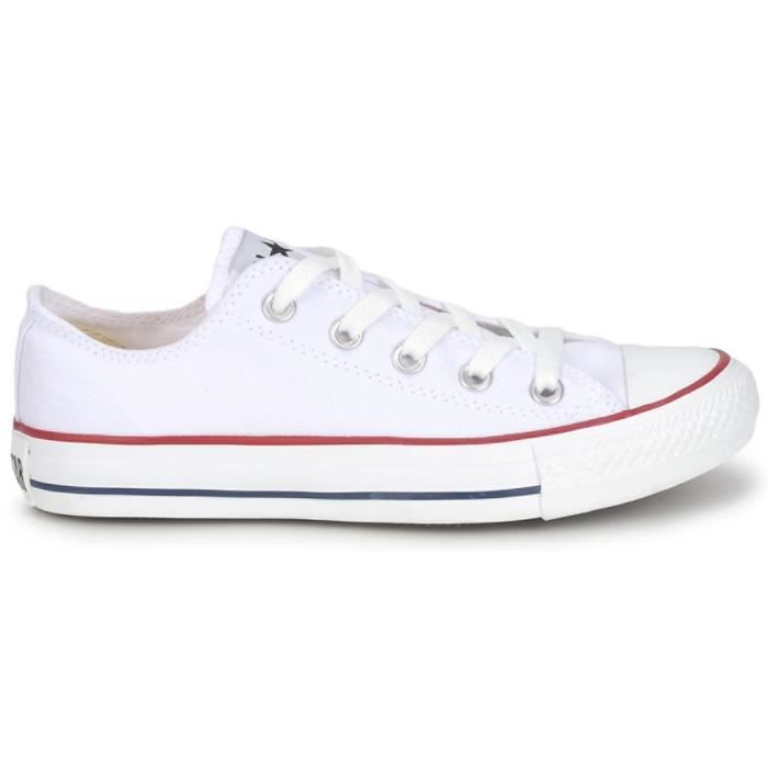 converse basse blanche optical white ox m7652