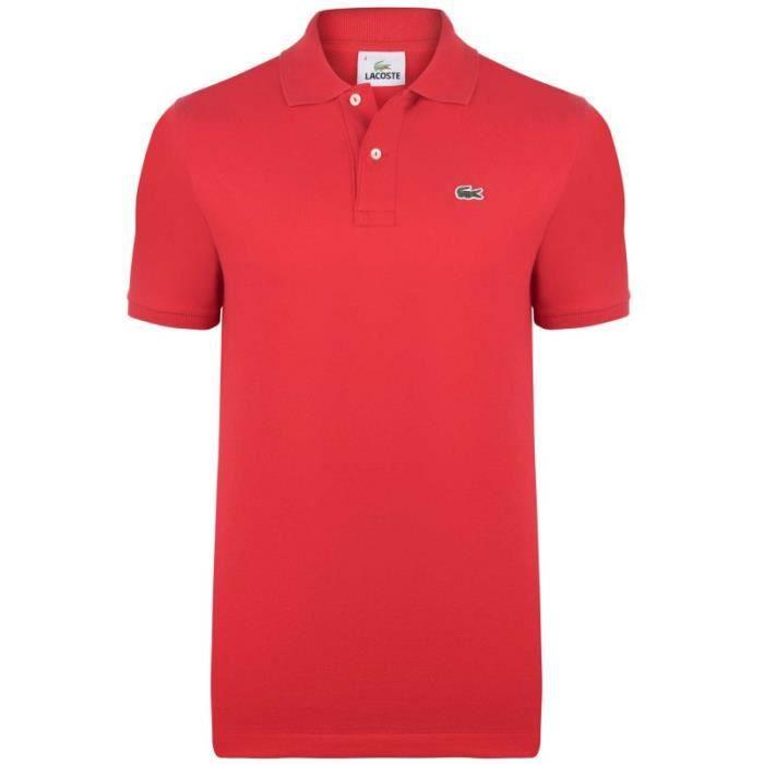 polo rouge homme achat vente polo rouge homme pas cher soldes d s le 10 janvier cdiscount. Black Bedroom Furniture Sets. Home Design Ideas