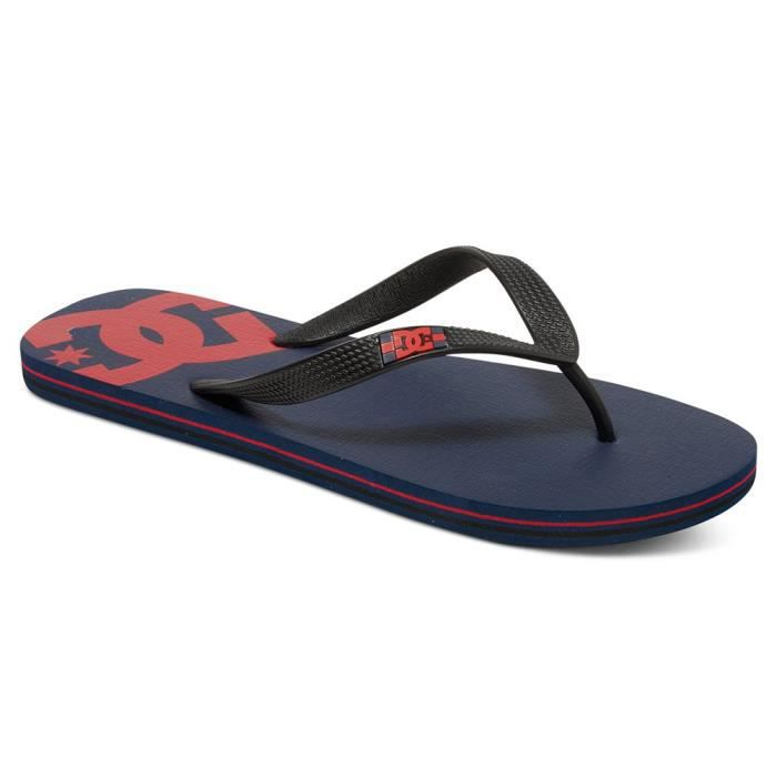 DC SHOES Spray Tong Homme - Taille 40.5 - BLEU f36Z8wz