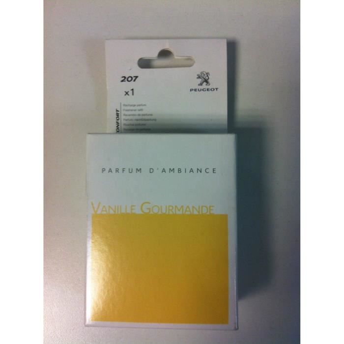 Favori RECHARGE PARFUMS (vanille) PEUGEOT 207 (origine constructeur  YW15