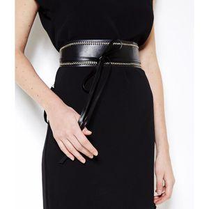 ... CEINTURE ET BOUCLE Camaïeu - Large ceinture femme - AOBICOUTURE CREME  ... b3b185084a3
