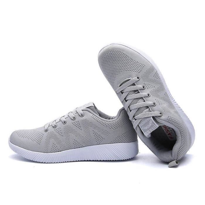 Chaussure Course A Pied Doux Mode Chic Amorti Homme gris 40 R47241574_613