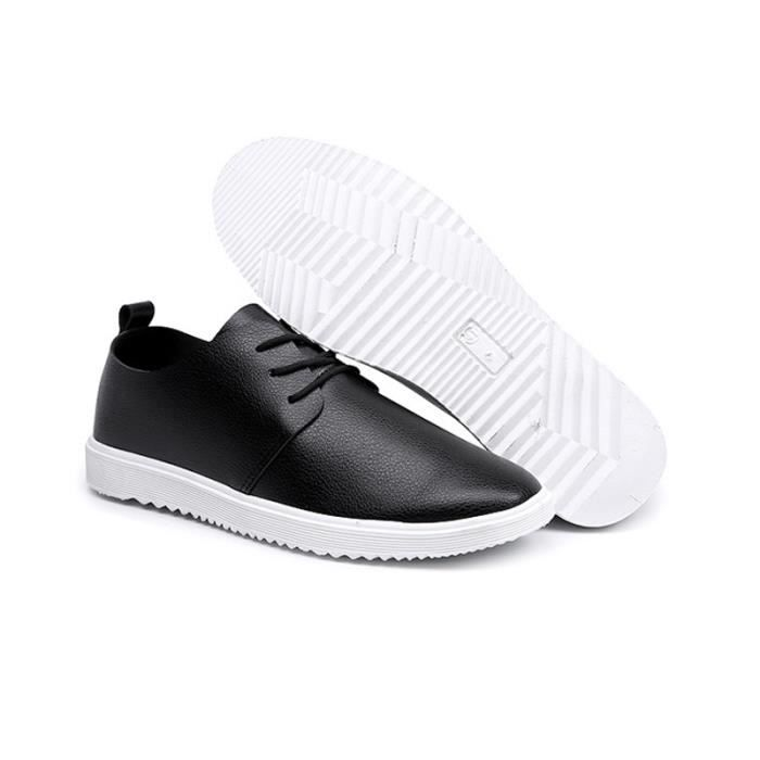 Chaussures Ete Printemps Chaussures Haute Plat Hommes Qualité Cuir xtvqtwr