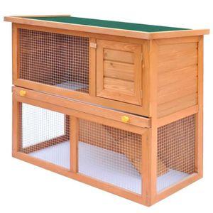 CLAPIER Clapier d'extérieur Enclos pour petits animaux 1 p