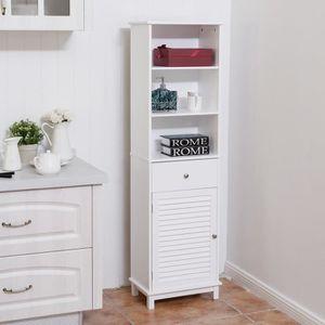 COLONNE - ARMOIRE SDB Meuble colonne de salle de bain armoire de salle d