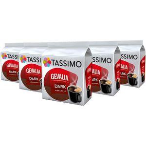 CAFÉ CD-250Tassimo Gevalia noir, café, capsules de café