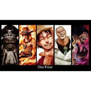 AFFICHE - POSTER Poster manga one piece personnages (Dimensions : 1