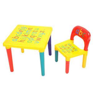 petite table et chaise enfant achat vente petite table et chaise enfant pas cher cdiscount. Black Bedroom Furniture Sets. Home Design Ideas