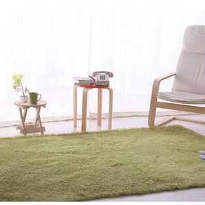 tapis tapis 140160cm shaggy moquette anti drapage abso - Table Ovale Scandinave2543
