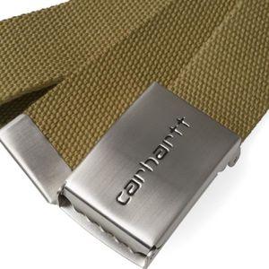 CEINTURE ET BOUCLE Ceinture Carhartt Clip Belt Chrome - I019176HZ00 169c7d2677c
