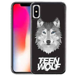 COQUE - BUMPER Coque iPhone X Teen Wolf Loup Origami