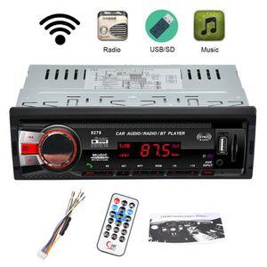 AUTORADIO Autoradio BT Stéréo MP3 Lecteur 8278 Voiture avec