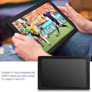 Téléviseur LED  12.1'' Téléviseur numérique Rechargeable Lecteur