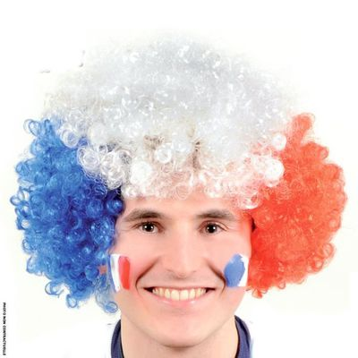 Perruque supporter foot France - Achat /