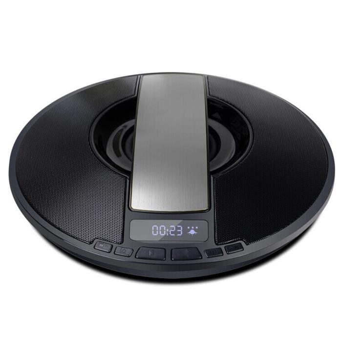 Écran Lcd De Mode Haut-parleur Portable Stéréo Bluetooth Sans Fil Pour Smartphone Ye @5293