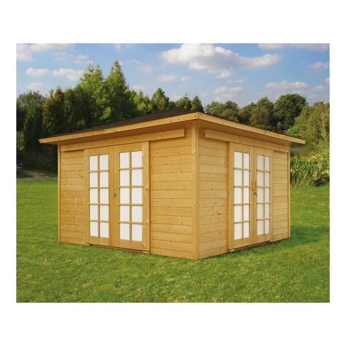 abri de jardin en bois 16m2 - achat / vente abri de jardin en bois