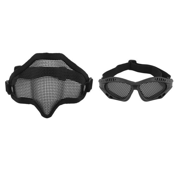 Protection De Masque Maille Tactique Militaire En Visage D Moitié xeQrdEoCBW