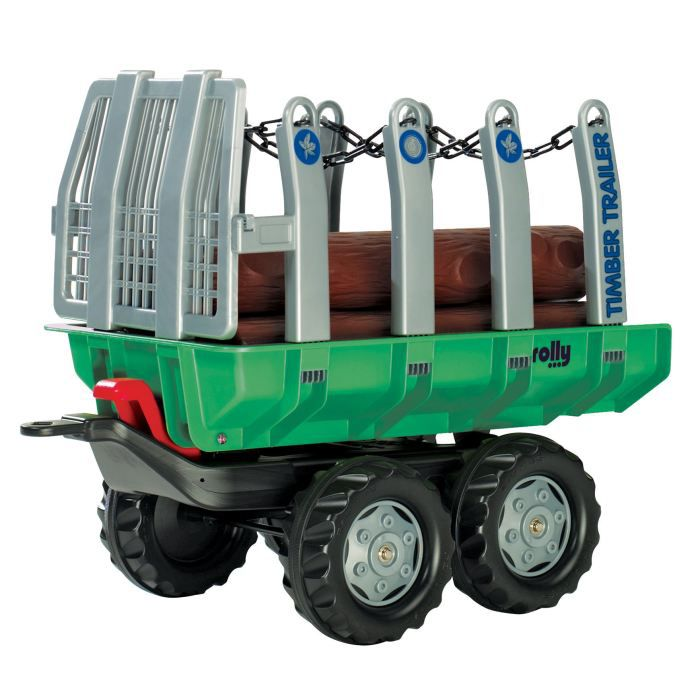 rolly toys remorque pour tracteur p dales timber trailer. Black Bedroom Furniture Sets. Home Design Ideas