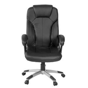 fauteuil president achat vente fauteuil president pas cher cdiscount. Black Bedroom Furniture Sets. Home Design Ideas