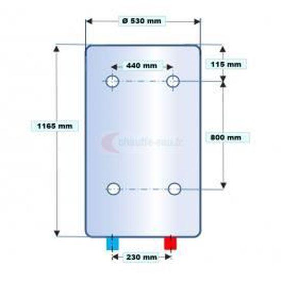Nouvel Chauffe-eau électrique vertical 150 L Atlantic … - Achat / Vente SB-37