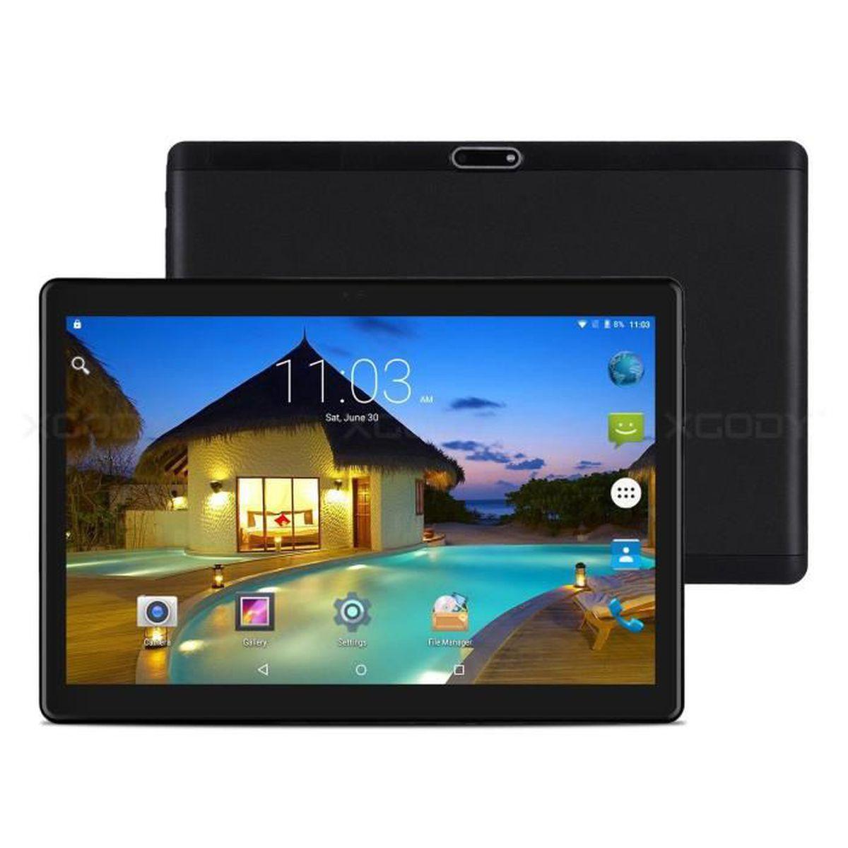 f821c6d07c9 XGODY TB02 10.1    Android 6.0 Tablet PC Quad Core 3G Téléphone Dual ...