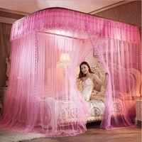 moustiquaire ciel de lit de b b et les adulte filles princesse jouer tente enfant chambre. Black Bedroom Furniture Sets. Home Design Ideas