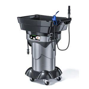 DABS Fontaine Biologique - Fontaine de Nettoyage Mobile Chauffante Gravity DA159 Noir et Gris