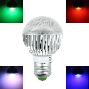 AMPOULE - LED virtualhall®RGB E27 5W 110V 220V 16 changement de