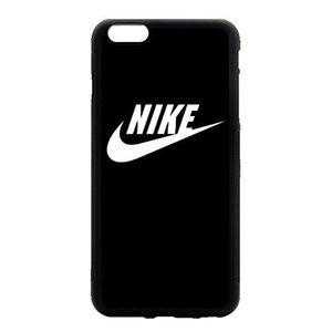 13€90  Coque Galaxy S7 EDGE Nike Just Do it Logo Simple Noir et Blanc Etui  Housse Bumper 64e33e491457