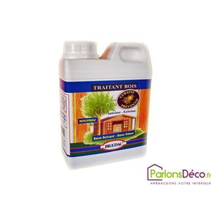 PRODUIT INSECTICIDE Traitement bois insecticide Brédac 1L