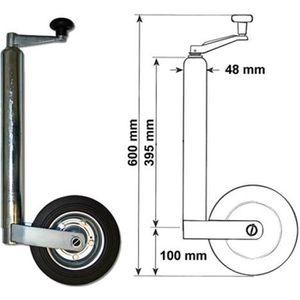 ROUE DE JOCKEY 362kg - DM48mm Roue Jockey de Remorque - 30116