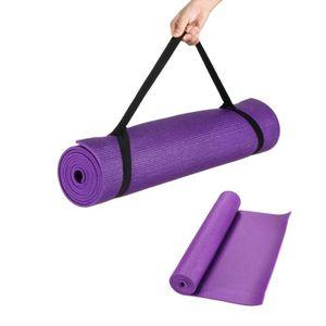 tapis de yoga epais achat vente pas cher cdiscount. Black Bedroom Furniture Sets. Home Design Ideas