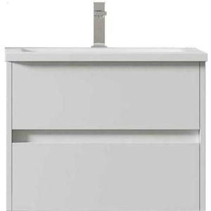 SALLE DE BAIN COMPLETE Meuble de salle de bain suspendu LERMA 60 cm Blanc