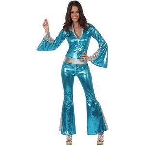 DÉGUISEMENT - PANOPLIE Déguisement Combinaison Disco Femme Turquoise
