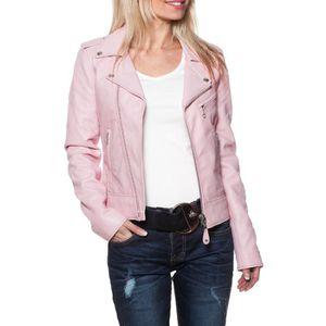 1bc53a7780073 Schott - Blouson - Lcw1601d pink... Rose - Achat   Vente blouson ...