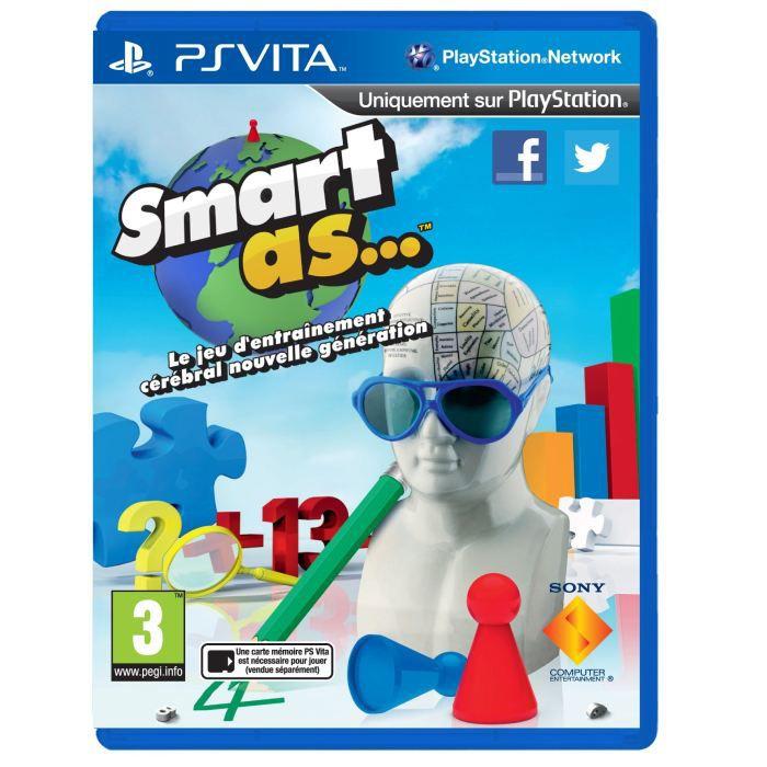 JEU PS VITA Smart As Jeu PS Vita