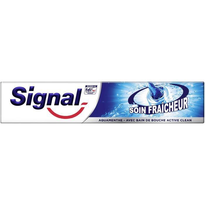 SIGNAL Dentifrice - Soin Fraîcheur - Aquamenthe - 75 ml