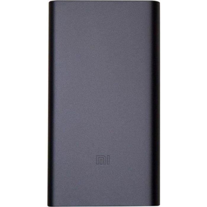 XIAOMI MI Power bank 2 Noir - batterie externe de 10 000 mAh à recharge rapide.