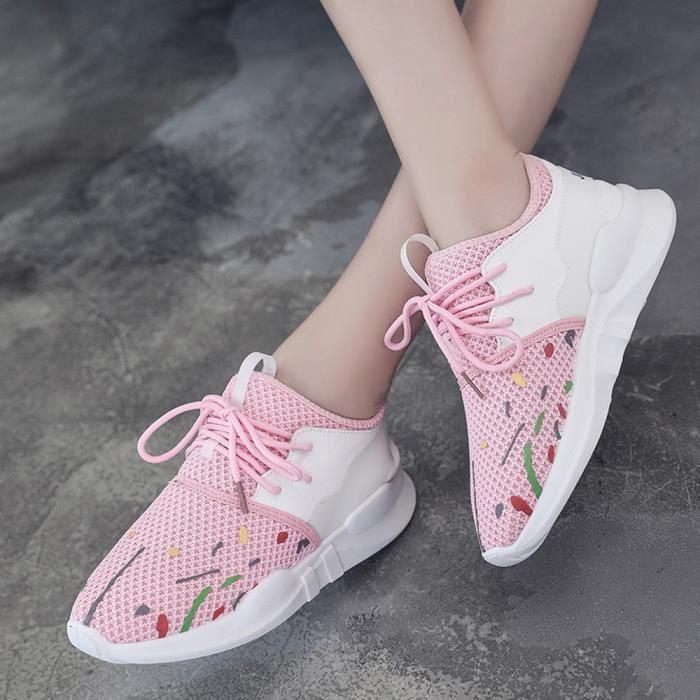 Chaussures décontractées Chaussures d'été Chaussures d'été Femmes Slip-On Chaussures à lacets mwLPabDIGO