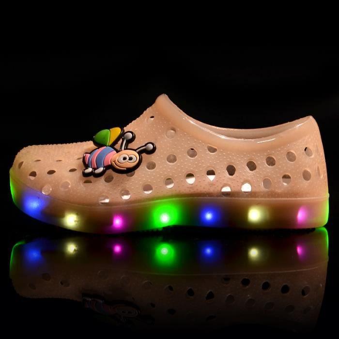 Sandales enfant LEDs