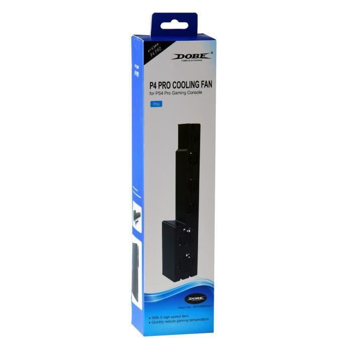 VENTILATEUR CONSOLE DOBE Ventilateur pour console de jeux PS4 Pro - No