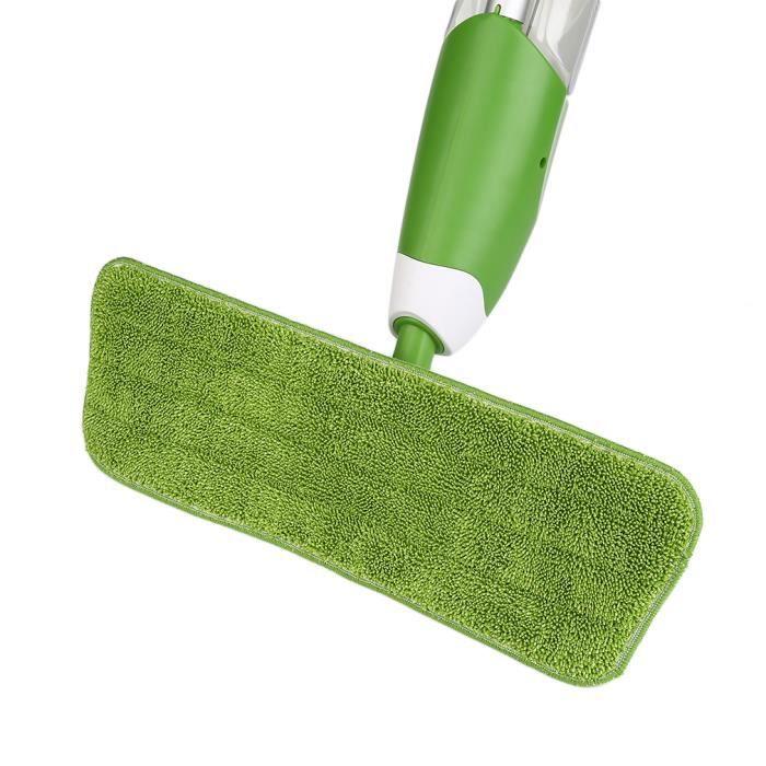2 x vadrouille de remplacement vert environnemental pratique pour vadrouille de pulvérisation d'eau