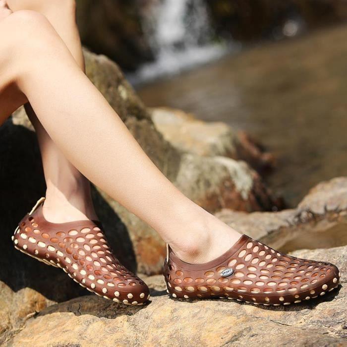 Fond épais printemps et chaussures d'été Sandales pour hommes IZsYbD